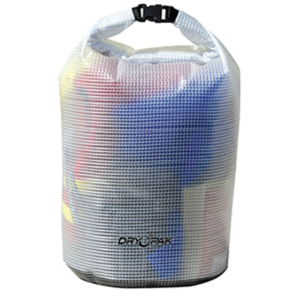 Dry Pak Roll Top Dry Gear Bag - 11-1/2 x 19 - Clear