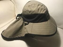 1fb7a83312b SUNDAY AFTERNOONS Adventure Hat UV50+ Flap size L Tan Beige EXCELLENT EUC -  £18.23