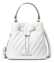 MICHAEL MICHAEL KORS Suri Small Quilted Crossbody Bag Optic White MSRP: ... - $158.39