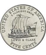 Stati Uniti UNC 2004-P Jefferson Barca a Chiglia Nickel ~ Eccellente - $2.44