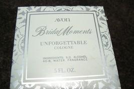 Vintage Avon Bridal Moments Unforgettable Cologne 5 Fl.Oz - $16.82