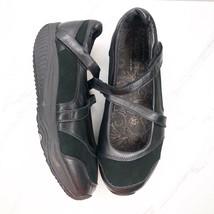 Skechers Shape Ups Mary Jane 7.5 Black Shoes Womens Sneakers Toning Rocker - $18.28
