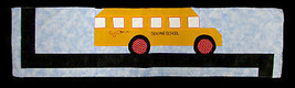 "Row by Row 2017 ""On the Go"" School Bus Quilt Kit - Sold by the Kit M401.... - $12.97"