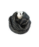 Two- Tone Big Knit Infinity Scarf - £10.53 GBP