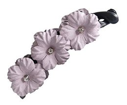 Banana Clip Twist Clip Flower Hair Clips Twisted Clip Horsetail Hairpin,2 Pcs