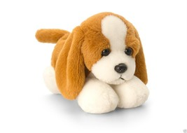 Keel Toys Laying Dogs - 15cm Laying Down Dog - BEAGLE - $4.99