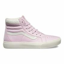 VANS Sk8 Hi Cup (Leather) Lilac Snow Pink Pro Skate Men's 8.5 Women's 10 - $49.95