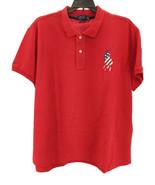 Polo Ralph Lauren Women's 100% Cotton Classic-Fit Polo Shirt, Red Size XL - $49.49