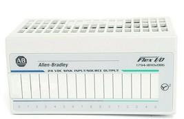 ALLEN BRADLEY 1794-IB10XOB6 FLEX I/O 24 VDC SINK INPUT/SOURCE OUTPUT SER. A image 1