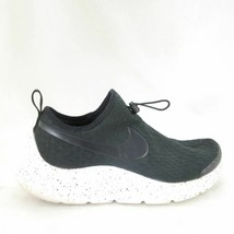 8.5 - Nike Aptare Black Gray Drawstring Lace Speckled Sole Sneakers Shoe... - $30.00