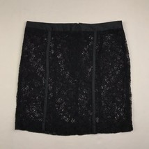 "Forever 21 Womens Sz S Black Lace Mini Skirt 15"" Length - $16.78"