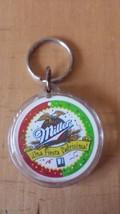 Miller Beer Spanish Language Una Fiesta Padrisima! Key Chain Key Fob - $13.36