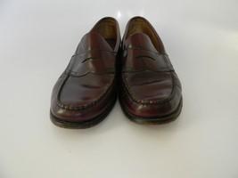 Mens Bass Weejuns Levin Burgundy Slip On Loafer Shoes Size 11M - $34.99