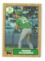 1987 Topps - #366 - Mark McGwire Rookie Card - $2.47