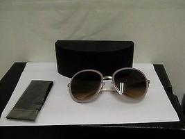 Women's Prada new sunglasses SPR 51N 57/20 pink frame brown lenses Italy - $170.98