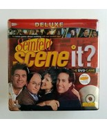 Scene It Seinfeld Deluxe Edition DVD / HD Video Game 2008 Trivia Board G... - $39.48