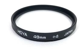 HOYA 49mm +4 Filter Japan - $9.65