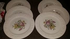 """Homer Laughlin Eggshell Georgian English Regency Dinner Plates 10""""  - $14.84"""