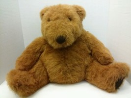 Chubbs Russ Berrie Plush Stuffed Animal Bear Huge Large Brown Htf Exc - $19.75