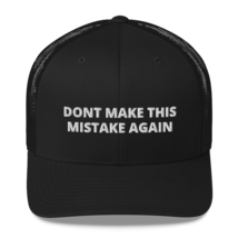 DONT MAKE THIS MISTAKE AGAIN / American hat / dt hat / Trucker Cap image 2