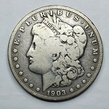 1903S MORGAN SILVER $1 DOLLAR Coin Lot# A 159