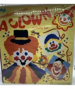 BETTY'S EVERYBODY LOVES A CLOWN ACTIVITY SET LONGSTITCH QUICKPOINT NOS - $15.84