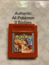 Pokemon Red Version Authentic All 151 Game Boy Color - $50.00