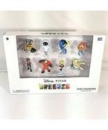 Disney Pixar Mini Figurines 8 Piece Gift Set w Wall-E, Nemo, Mr. Incredi... - $29.95