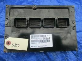 2010 Chrysler PT Cruiser PCM 2.4L ECM Engine Computer ECU P05187761AA 761AA - $129.99