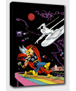 Marvel: Thor vs The Silver Surfer - Mounted Canvas (various sizes) - $29.99+