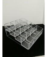 """Plastic Makeup Nail Polish Countertop Organizer Small 5"""" x 5"""" New - $3.96"""