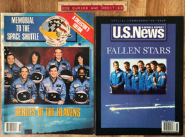 LOT Memorial To The Space Shuttle A Collector's Edition &  US News Speci... - $17.42