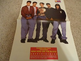 New Kids on the block teen magazine poster clipping Award time One magazine