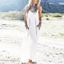 3 Colors Sundress Beach Vestidos 2017 Summer Women Dress Boho Strapless ... - $28.95