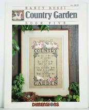 Cross Stitch Chart Country Garden Book Five The  Kooler Studio Dimensions - $3.95