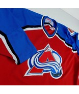 Colorado Avalanche CCM Jersey Sz XL Maska Air Knit NHL 1996-99 - $29.99