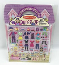 Melissa & Doug Puffy Sticker Play Set: Dress-Up - $6.99