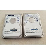Qty (2) Maxtor 80 G 6L080P0 Hard Drives 3.5 IDE Tested and Wiped - $35.00