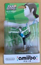 Wii Fit Trainer Amiibo japan Nintendo - $14.85