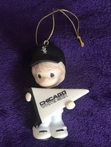 Precious Moments Ornament - MLB Chicago White Sox Boy with Pennant  - $19.75