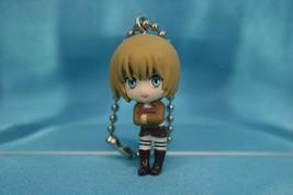 Bandai Attack on Titan Gashapon Mini Figure Keychain Swing P2 Armin Arlert - $19.99