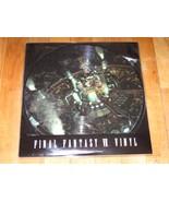 "Final Fantasy VII Vinyl Soundtrack double-LP picture 12"" limited & numbe... - $485.99"