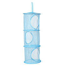 3 Shelf Hanging Toy Organizer Toys Bag Storage Net Mesh Basket Bedroom W... - $228,33 MXN