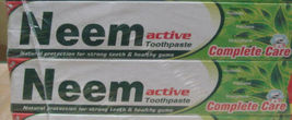 2 Pack 200grams Neem Advance Toothpaste 100% Vegetarian - $10.00