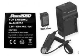 Battery + Charger For Samsung HMXR10 HMX-R10B HMXR10B - $26.91
