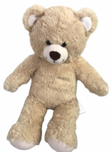 Build A Bear Workshop Teddy Tan Brown Plush Stuffed Animal Honey Soft 16... - $22.92