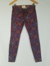 Current Elliott women 25 The Ankle Skinny Crimson Tapestry - $59.40