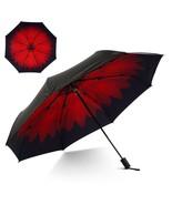 Flexzion Small Travel UV Sun Rain Umbrella - Windproof Sun UV Protection... - $27.00