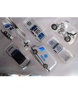 Police 6 Pc Vehicles Diecast Toy Play Set Pretend Play # Ty29 - $13.99