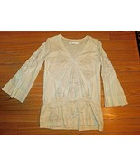 KARTA EMBROIDERED TUNIC TOP SIZE SMALL EUC - $39.59